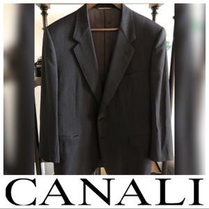Canali Blazer - Made in Italy - Charcoal Gray